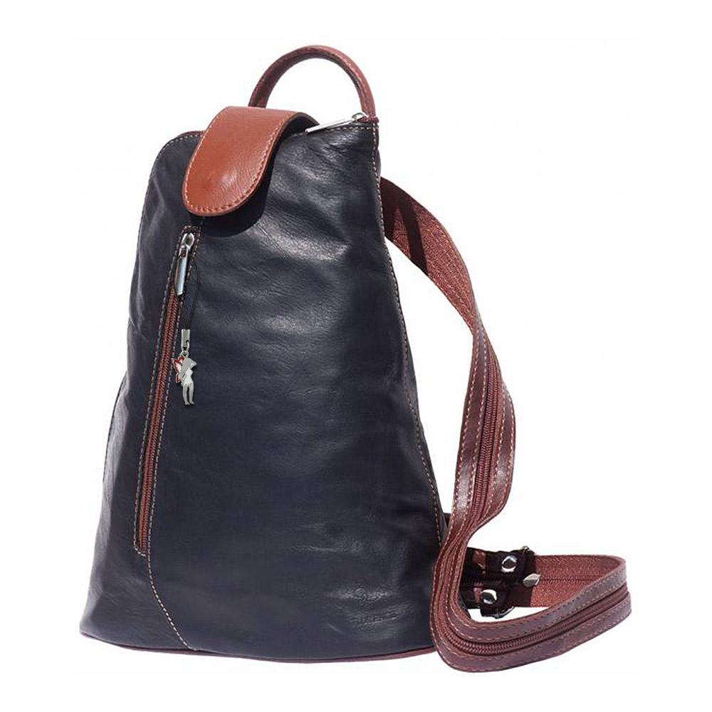 rucksack damen handtasche leder schwarz rucksacktasche. Black Bedroom Furniture Sets. Home Design Ideas