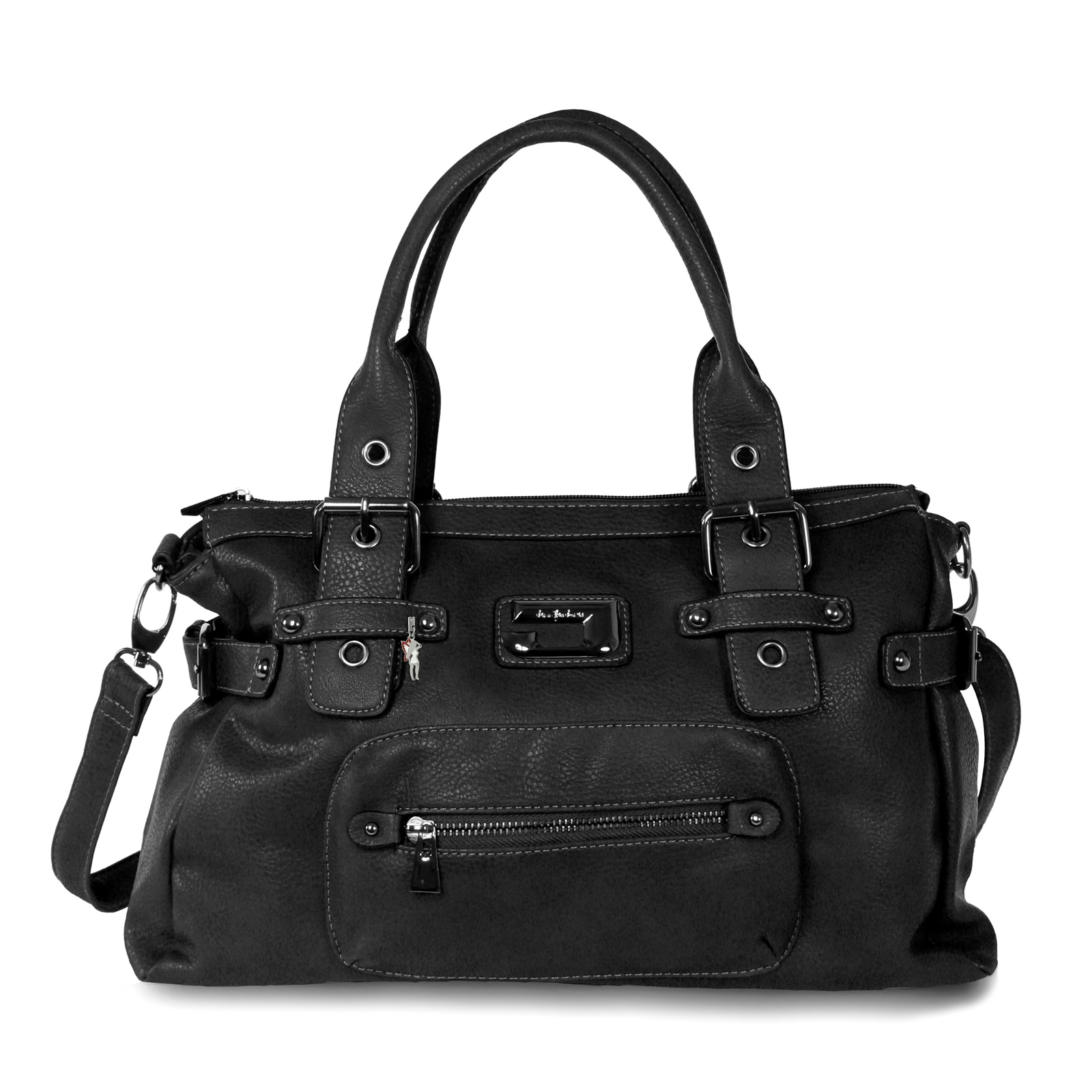 Strap-Bag-Faux-Leather-Ladies-Shoulder-Bag-Handbag-otj103x-JENNIFER-JONES