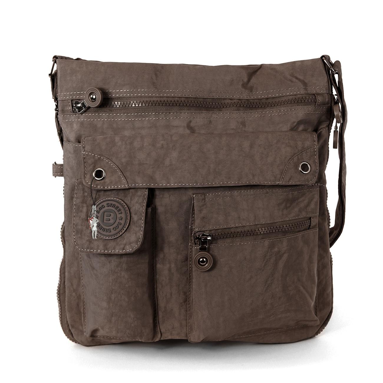 Brown Nylon Bag 44