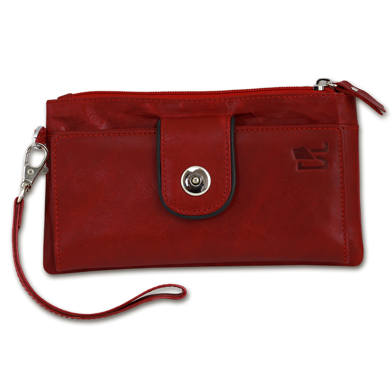 For formal events, an evening clutch made of leather, velvet, or beads is a nice complement to your dress. For a less formal look, opt for cotton, nylon, or canvas, which come in a wide variety of styles and colors perfect for the office, coffee with a friend, or just running errands.