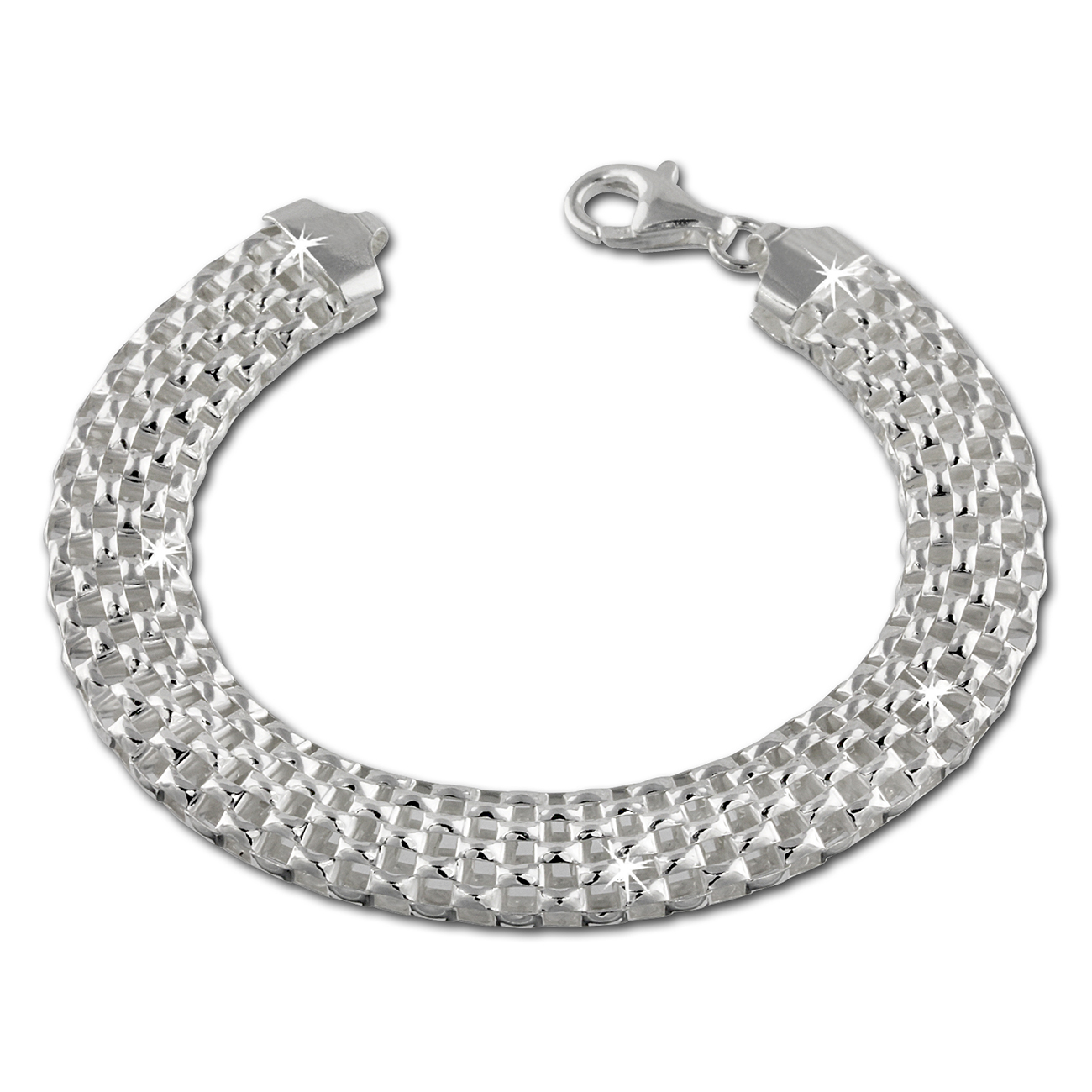 Silver Dream<br> bracelet braid 925<br>Sterling Silver D