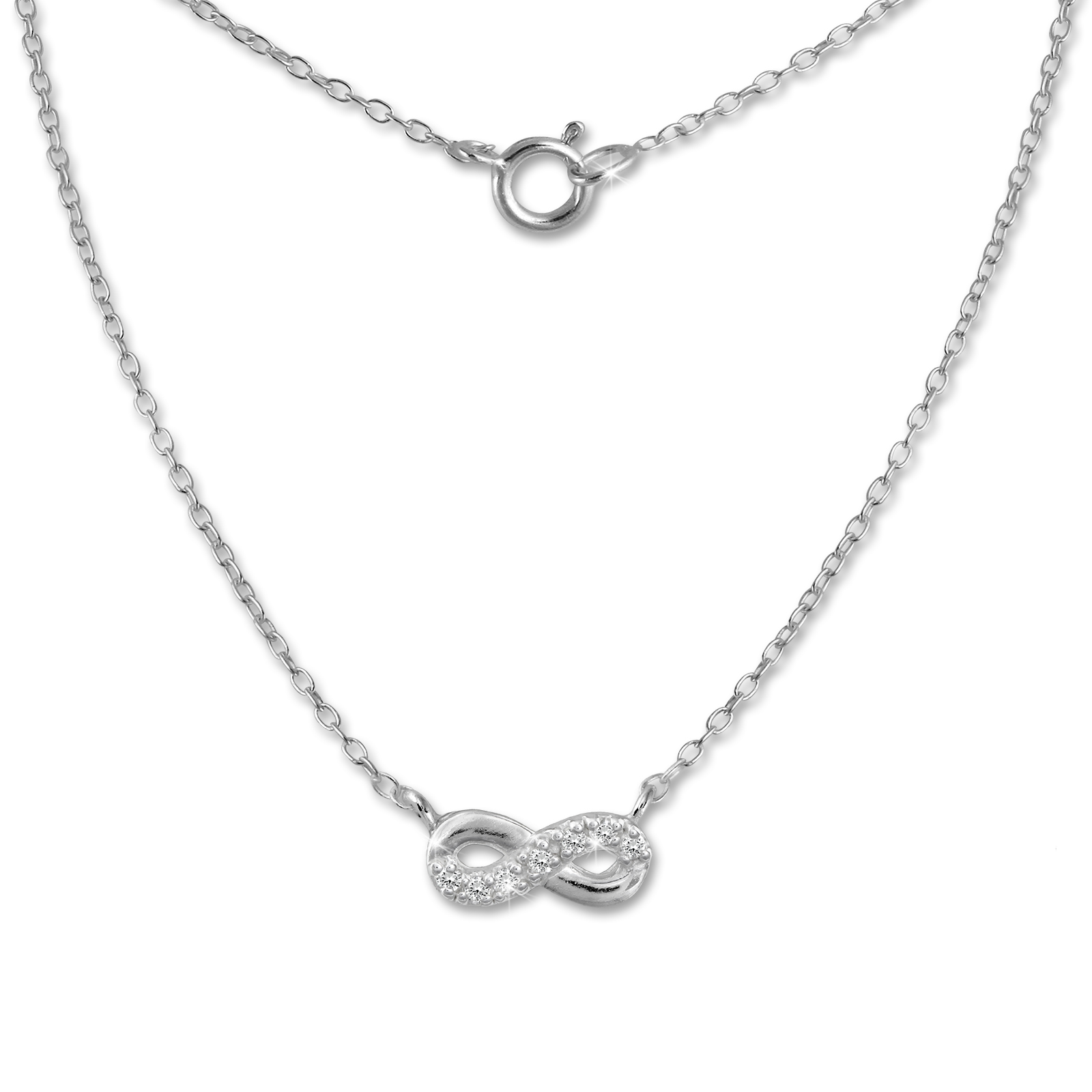 Silver Dream 925<br> sterling silver<br>chain Infinity
